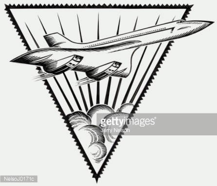 Concorde The Stock Illustration.