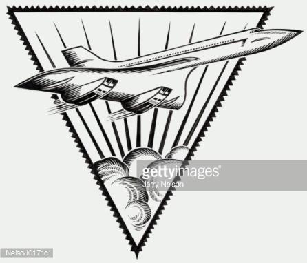 Concorde The Stock Illustration.