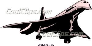 Concorde Clip Art.