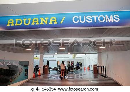 Stock Photo of Nicaragua, Managua, Augusto C Sandino International.
