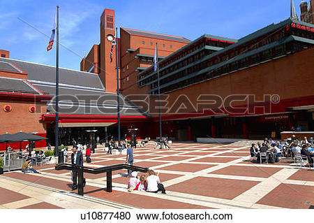 Stock Photography of England, London, St Pancras. The concourse.