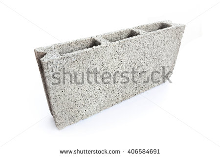 Concrete Block Stock Images, Royalty.