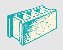 Concrete Block stock vectors.