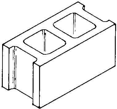 Concrete block clipart.