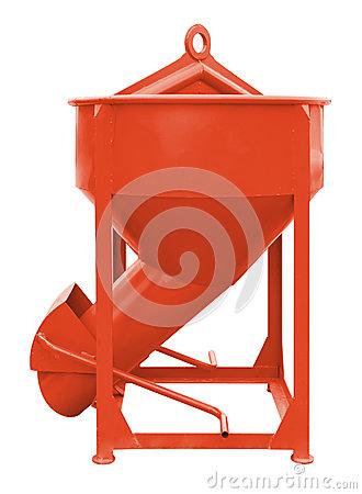 Crane Hoist Concrete Bucket Stock Photos, Images, & Pictures.