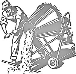 Concrete Mixer Clipart.