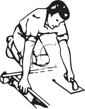 Concrete Worker Clipart.