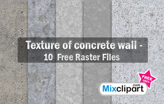 Texture of Concrete Wall.