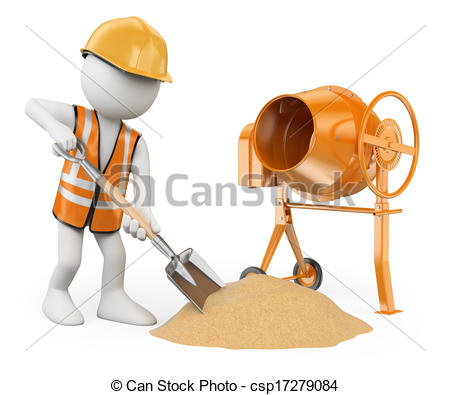 Concrete workers Stock Illustration Images. 3,411 Concrete workers.