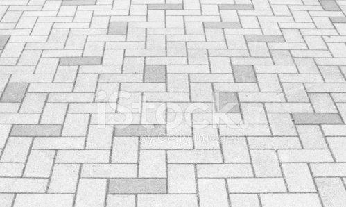Outdoor concrete block floor background and texture Clipart.