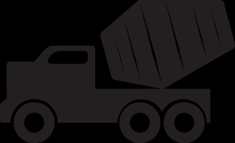 Free Clipart: Concrete mixer truck.
