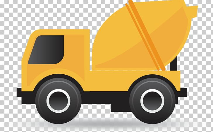 Cartoon Cement Concrete Mixer PNG, Clipart, Business, Car, Design.