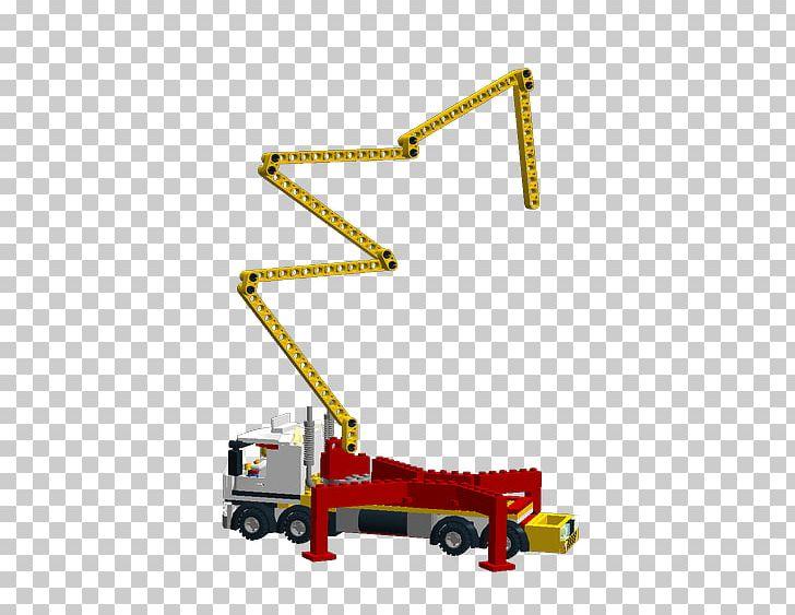 Concrete Pump Toy Crane Lego Ideas PNG, Clipart, Angle.