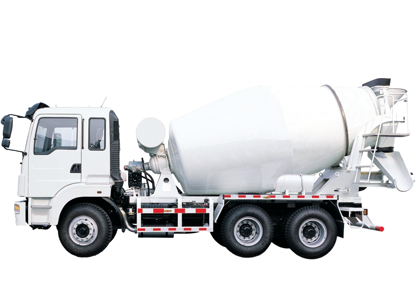Cement Mixers Concrete pump Truck Ready.