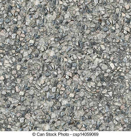 Stock Illustration of Seamless Texture of Old Concrete Slab.
