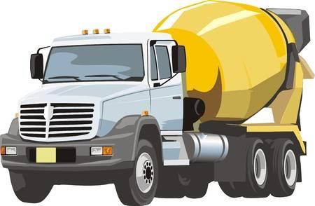 Concrete truck clipart 2 » Clipart Station.