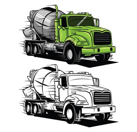 4,526 Cement Truck Cliparts, Stock Vector And Royalty Free Cement.