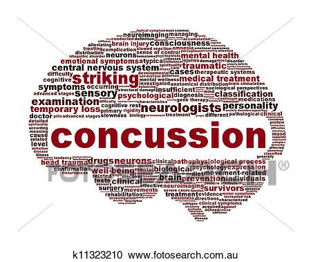 Concussion traumatic injury icon design Stock Illustrations.