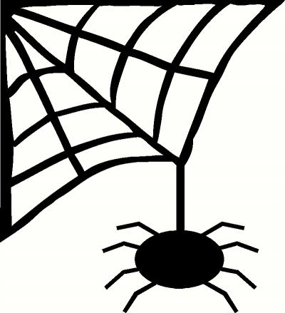 Condensation with Spider Web Clipart.