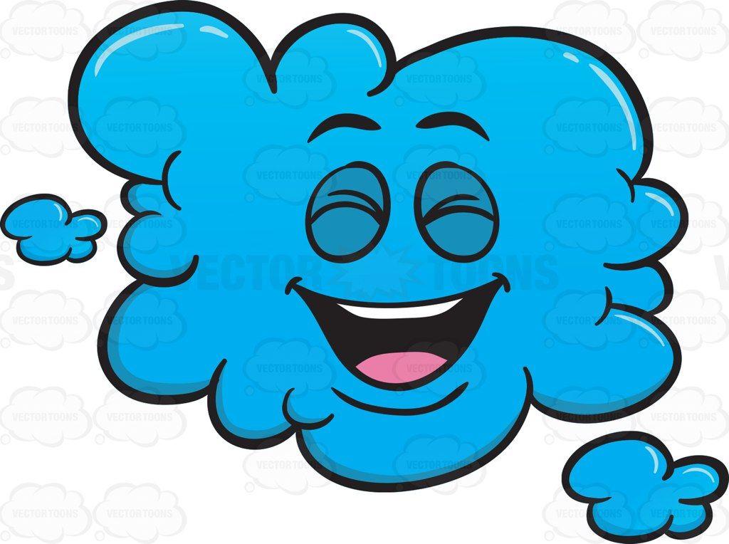 Laughing Cloud Emoji #atmosphere #atmosphericcycle.