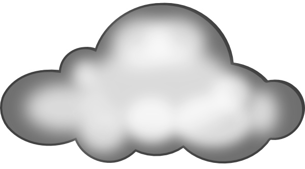 Condensation Cloud Clipart.