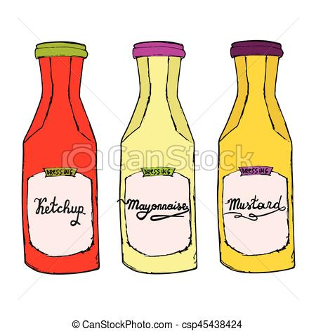 Condiments clipart 1 » Clipart Station.