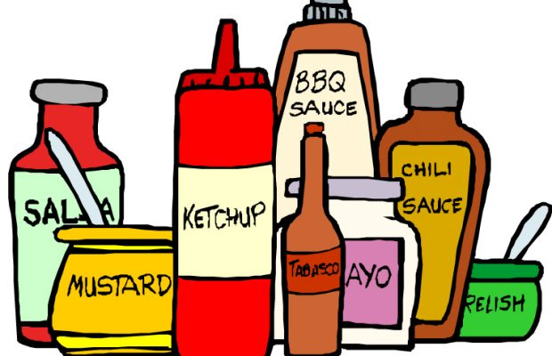 Favorite Condiments by State.