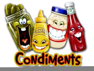Condiments Clipart.