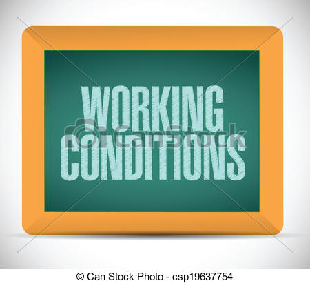 Working conditions Vector Clipart Illustrations. 362 Working.