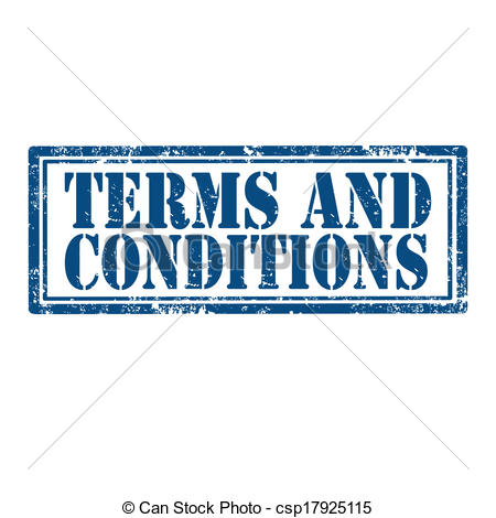 Vector Clip Art of Terms And Conditions.