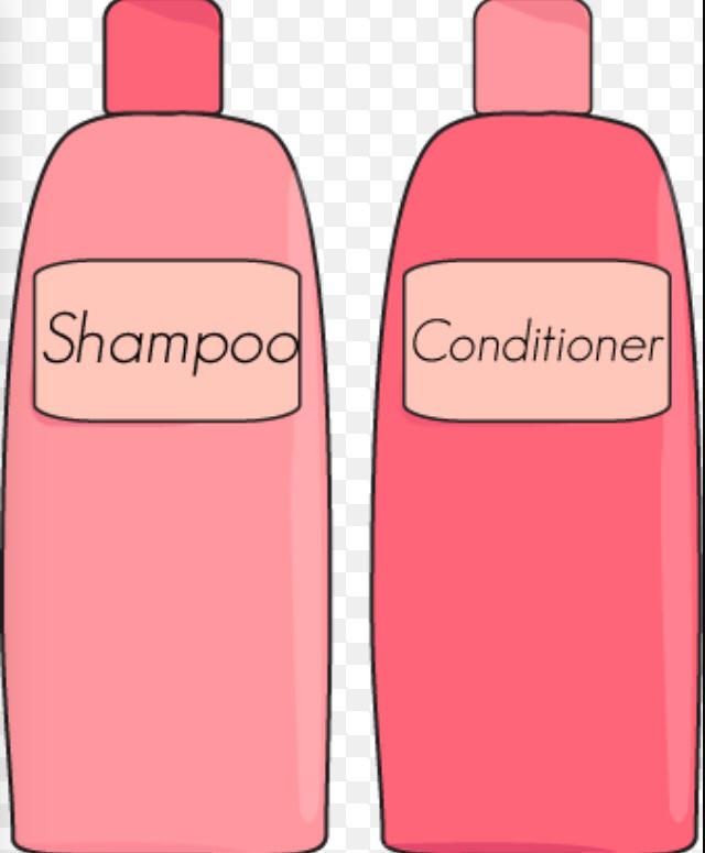 317 Shampoo free clipart.
