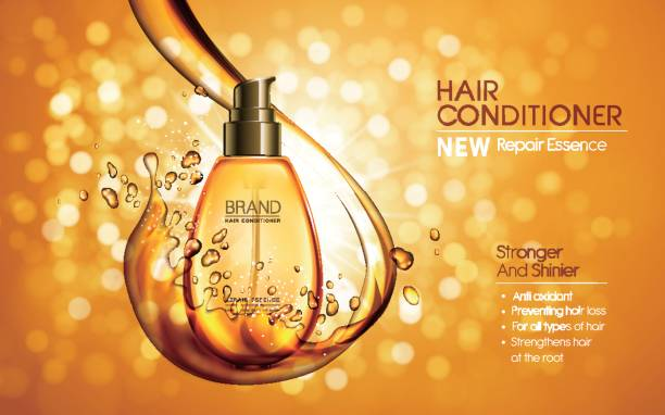 Hair Conditioning Clip Art, Vector Images & Illustrations.