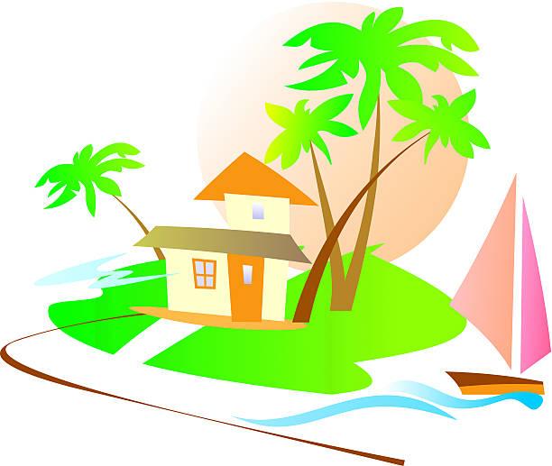 Hawaii Condo Illustrations, Royalty.