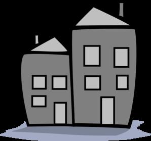 Apartments Clipart.