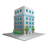 Buildings and structures Vector Image.