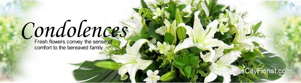 Condolence Images Flowers.