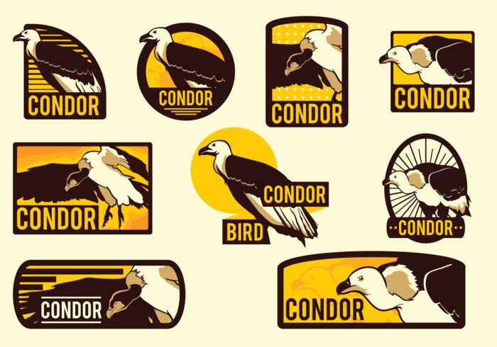 Condor Vector Labels.