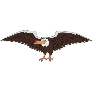 Condor 3 clipart, cliparts of Condor 3 free download (wmf, eps, emf.