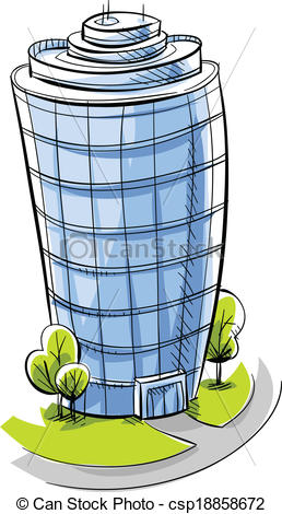 Vectors Illustration of Condo Tower.
