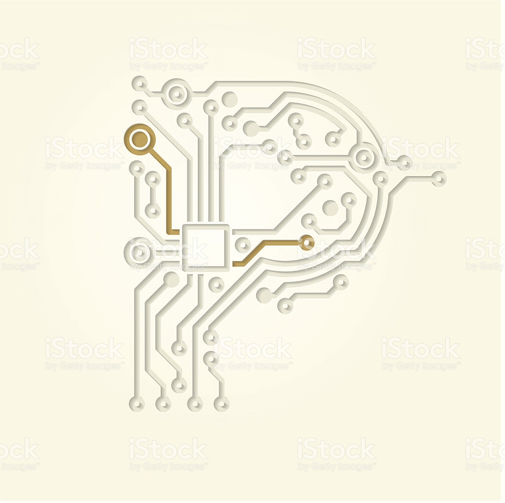 Letter P stock vector art 502912853.