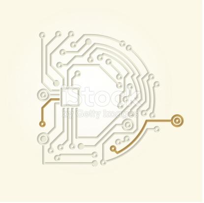 Letter D stock vector art 502935677.