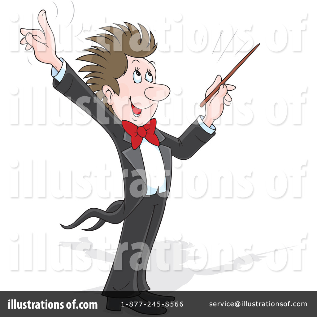 Music Conductor Clipart #1175980.