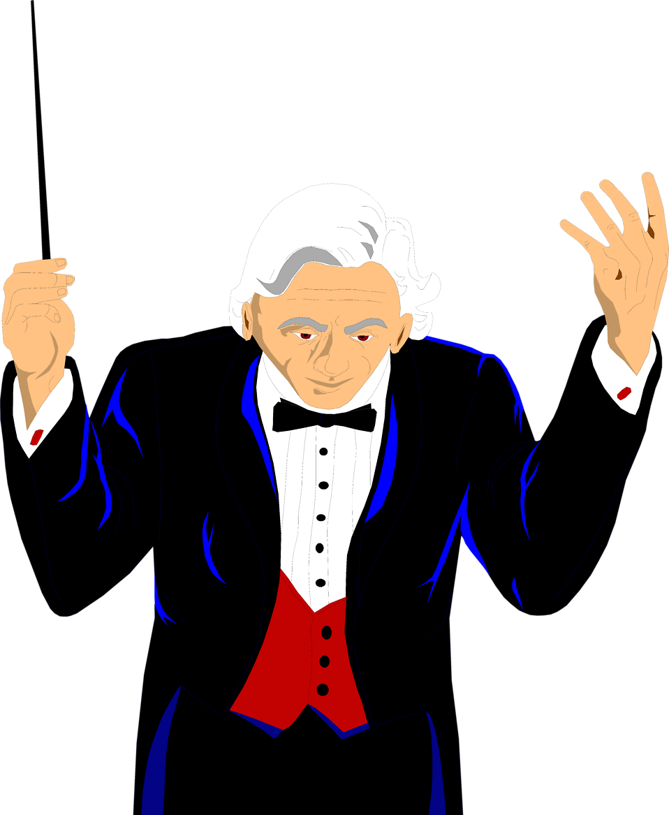 Collection of Conductor clipart.