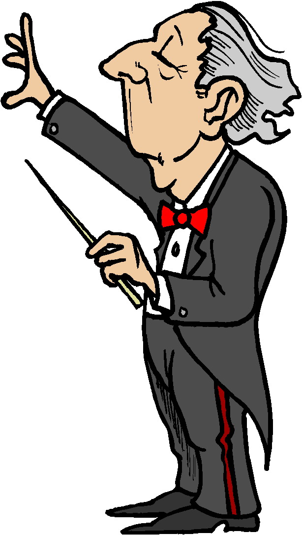 Conductor Clipart.