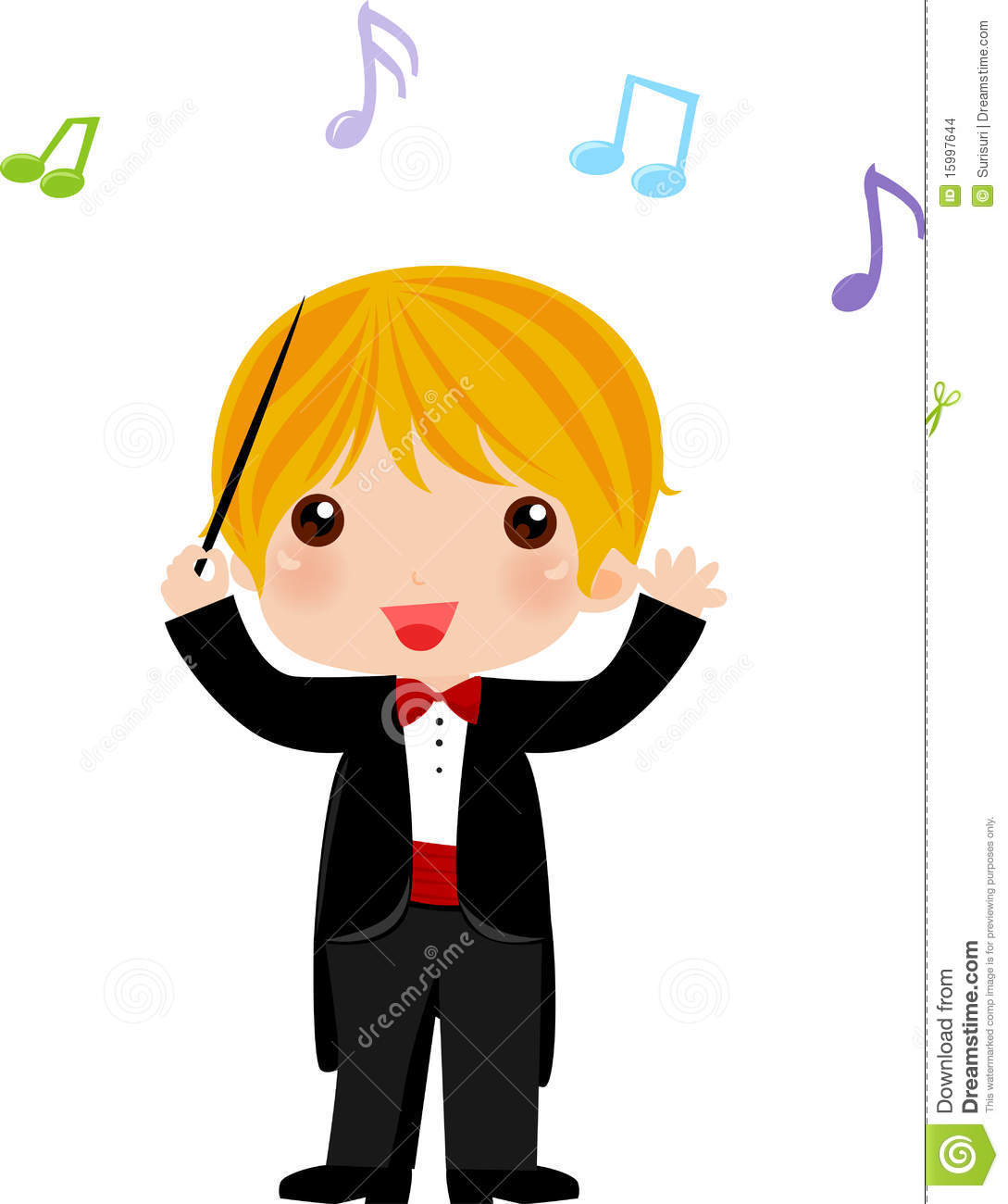 Symphony Conductor Clipart.