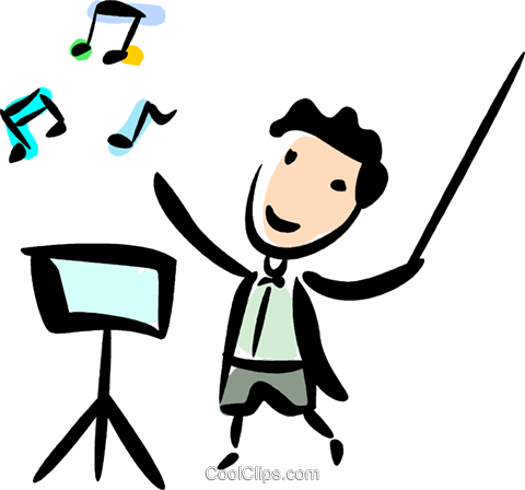 Clipart conductor orchestra.