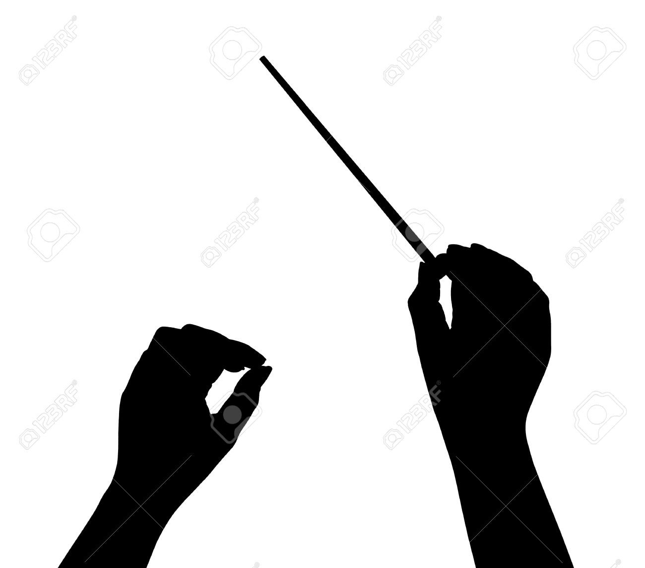 Conductor clipart hands.