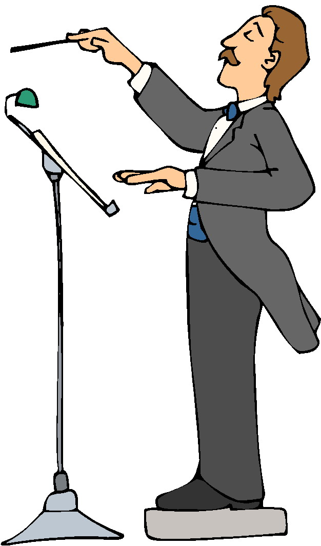 Science Conductor Clipart.