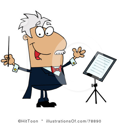 Conductor 20clipart.