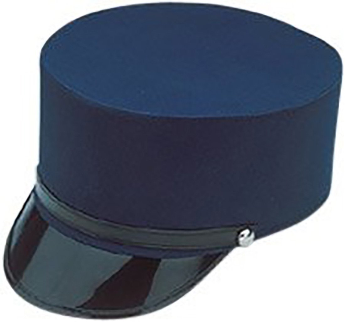 Large Navy Blue Conductor Hat.